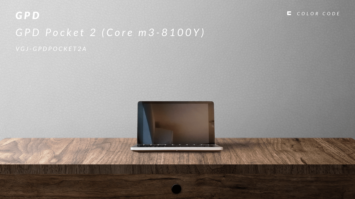 GPD | Pocket 2(Core m3-8100Y)